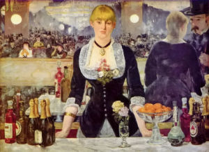 Bar in Den Folies-Bergè Re, Oil Painting. pictures & photos