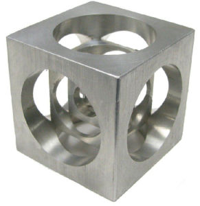 Metal Cube CNC Milling Part pictures & photos