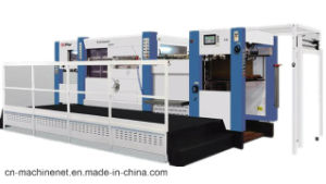 Corrugated Board Die Cutting Machine with Stripping Cardboard pictures & photos