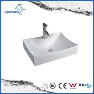 High-Quality Ceramic Cabinet Art Basin and Hand Washing Sink (ACB8319) pictures & photos