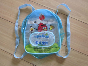 PVC Backpack School Bag (hbpv-61) pictures & photos