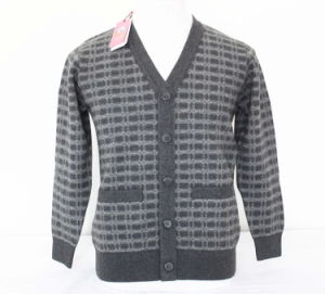 Yak Wool Cardigan Sweaters/ Cashmere Garment/ Knitwear/Yak Wool Fabric/ Wool Textile pictures & photos