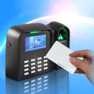 Fingerprint Time Attendance with RFID Smart Card Reader pictures & photos