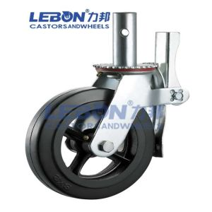 6 Inch Rubber Scaffolding Caster for Construction