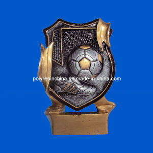 Polyresin Awards of Soccer Football Trophy pictures & photos
