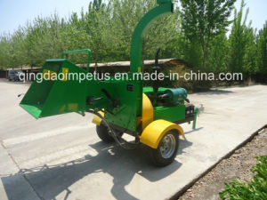 Hot Sale CE Certification Farm Machine 40HP Diesel Engine Wood Chipper pictures & photos