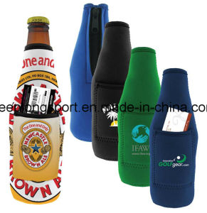 2016 Single Neoprene Bottle Holder with The Sublimation Printing pictures & photos