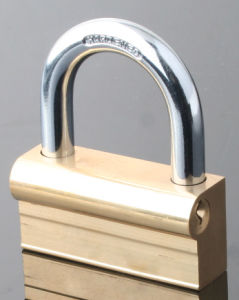 "Gold Plated ""P"" Type Camel Padlock (CP) pictures & photos"