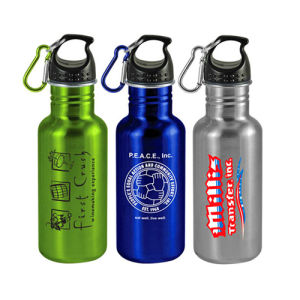 Stainless Steel Water Bottle with Carabiner pictures & photos
