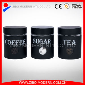 Stainless Steel Coating Tea Coffee Sugar Storage Jar pictures & photos