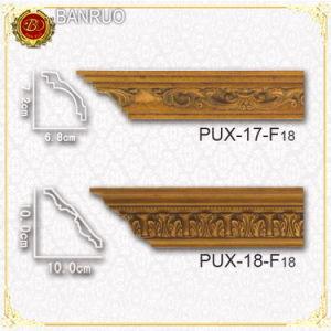 Decorative Cornice Crown Moulding (PUX19-F18, PUX20-F18) pictures & photos