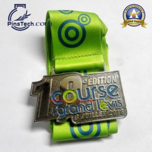 Custom Challenge Medal with Silk Screen Ribbon pictures & photos