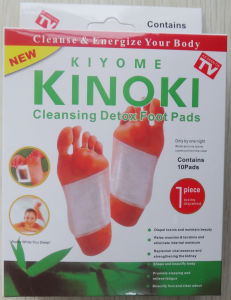 Kinoki Foot Pad Bamboo Detox Foot Patch Popular Foot Care Mask pictures & photos