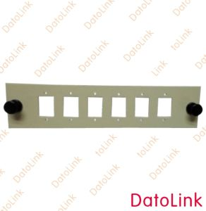Sc 6 Holes Fiber Optic Adapter Plate pictures & photos