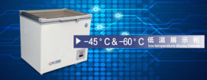 High Quality Low Temperature Display Freezer with CE &ISO pictures & photos