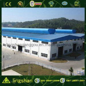 Pre-Engineer Sandwich Panel Metal Steel Structure Workshop (LS-S-085) pictures & photos