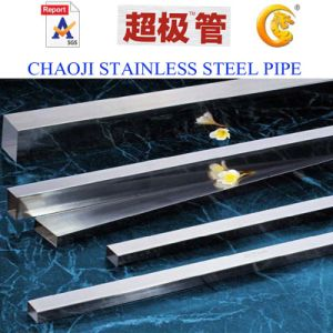 Rectanguar Welded Stainless Steel Pipe pictures & photos