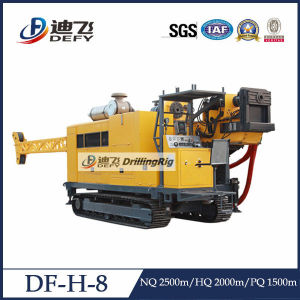 Df-H-8 Full Hydraulic Mineral Diamond Core Drilling Rig Machines pictures & photos