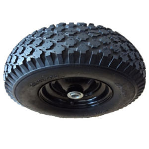 Tubeless Pneumatic Rubber Wheel with Diamond Pattern