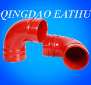 Ductile Iron Grooved Pipe Fitting (FM/UL CERTIFICTE) pictures & photos
