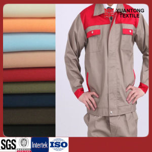 Different Color 100% Cotton Twill Workwear Fabric pictures & photos