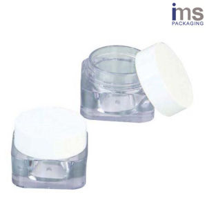 5ml Square Plastic Cosmetic Pot pictures & photos