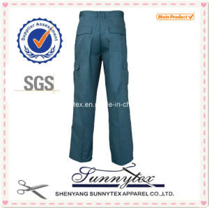 Sunytex Mens Polycotton Casual Pants with Side Pockets pictures & photos