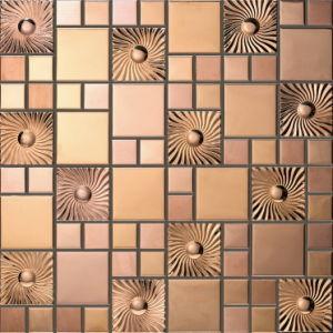 Metallic Wall Decoration Mosaic (J855009) pictures & photos