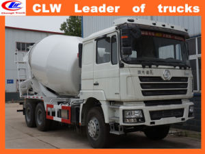 Shacman Concrete Mixer Truck 8 Cbm to 16 Cbm pictures & photos