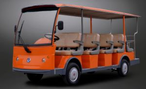 Cheap 14 Seater Electric Sightseeing Bus with CE Certificate From Dongfeng pictures & photos
