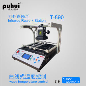 T-890 Infrared BGA Rework Station, New BGA Reballing Machine, Laptop Motherboard BGA Repairing Tool Kit, Soldering Station pictures & photos