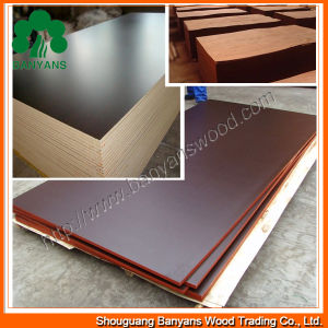 1200*2500mm Finger-Joint Film Faced Plywood