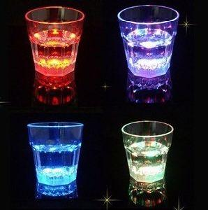 New Mini LED Wine Glass Bar Parties Club Decorative Mug (RCL-017)