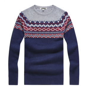 Factory Made High Quality Men′s Wool Knitting Sweater pictures & photos