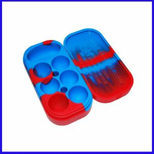 Non-Stick Silicone Wax Jar for Wholesaler pictures & photos