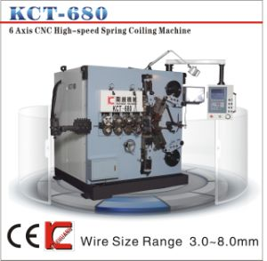 8mm 6 Axis High Speed and Stable Compression Spring Coiling/Making Machine&Spring Coiler pictures & photos