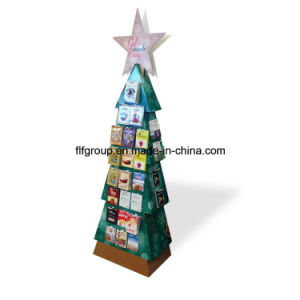 Customized Printed for Pampers Paper Display Stand Floor Stand Display Rack pictures & photos