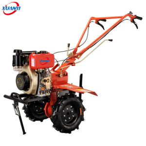 Diesel Power Tiller Agricultural Walking Two Wheel Tractor for Sale pictures & photos