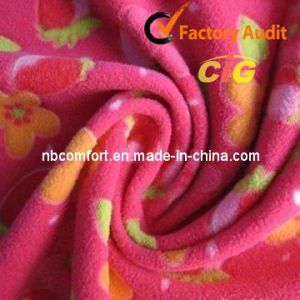 100% Polyester Polar Fleece (7002-1001) pictures & photos