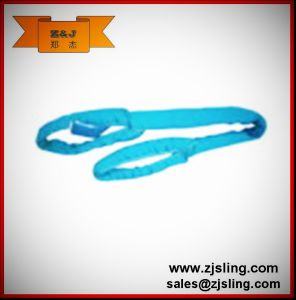 2t Eye-Eye Polyester Round Webbing Sling L=3m (customized) pictures & photos