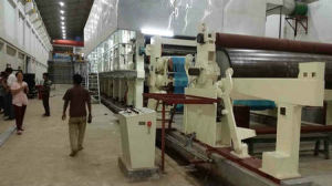 Good Quality Small Model 787mm Fluting Paper Machine pictures & photos