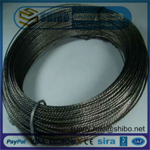 High Purity Stranded Tungsten Screw Wire, Tungsten Filament pictures & photos