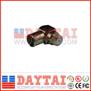 China CATV F Type 90 Degree CATV Connector pictures & photos