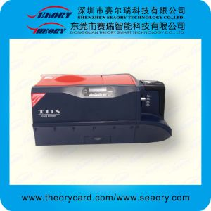 Seaory T11d Double Side Printing ID Card Printer pictures & photos