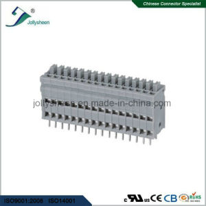 PCB Spring Terminal Block Connector pH2.54 with Grey Housing pictures & photos