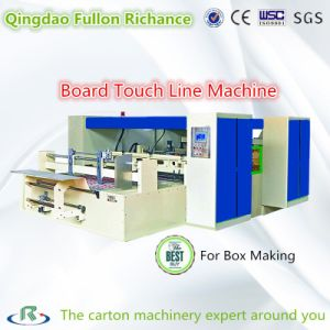 High Quality Touch Line Machine for Corrugated Carton Box Making pictures & photos