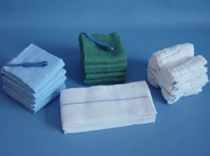 Medical Sterile Absorbent Gauze Swab with/Wihtout X Ray pictures & photos