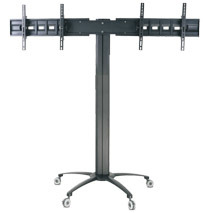 "Public TV Floor Stand Dual Screens 30-60"" (AVA 202A) pictures & photos"