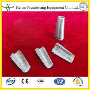 Prestressing Material of Cnm-Yjm-J Prestressed Tensioning Wedges pictures & photos