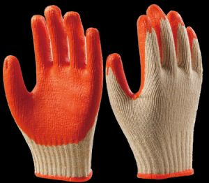 Industrial Safety Latex Coated Glove for Working Cut Resistant pictures & photos